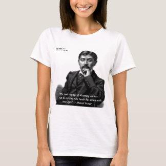 Camiseta Marcel Proust & citações famosas