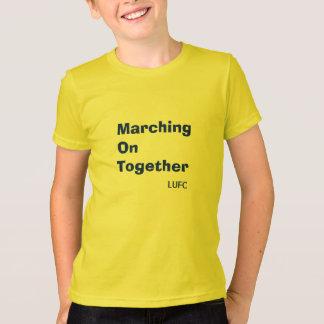 Camiseta Marcha junto no t-shirt dos miúdos do Leeds United