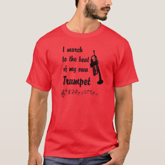 Camiseta Março à batida: Trombeta