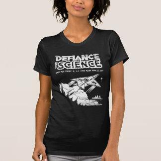 Camiseta Março para a ciência: Sopre fora! T-shirt
