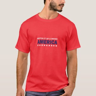 Camiseta Março para manter o medo vivo: Entalhe-o acima de