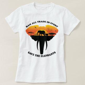 Camiseta Marfim da proibição