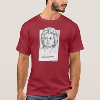 Camiseta Margaret Thatcher - t-shirt do consenso