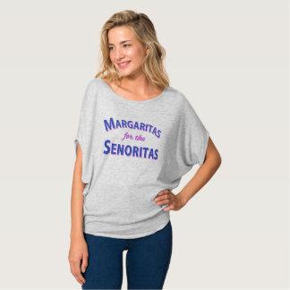 Camiseta Margaritas para os Senoritas