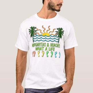 Camiseta Margaritas & praias