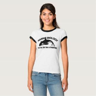 Camiseta marinha da toninha da biologia