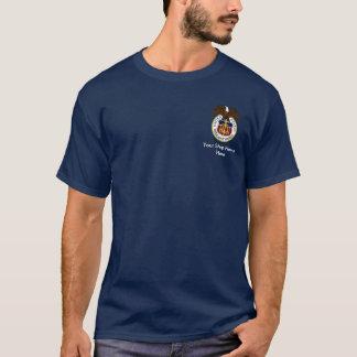 Camiseta Marinheiros do selo do fuzileiro naval mercante