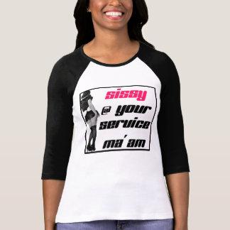 Camiseta Mariquinhas @ sua senhora do serviço