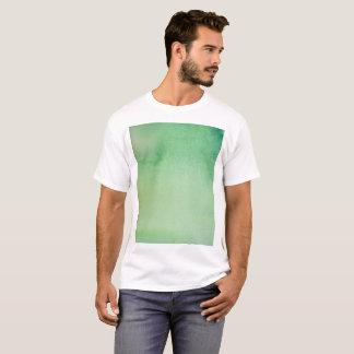 Camiseta Mármore verde do Watercolour