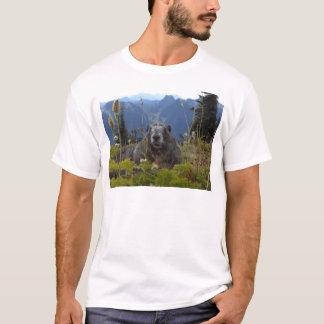 Camiseta marmota no paraíso