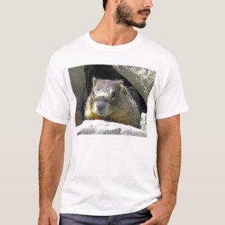 Camiseta Marmota no t-shirt do antro da rocha
