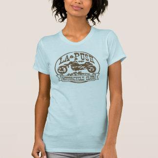 Camiseta Marrom das motocicletas do impulso do La