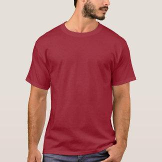 Camiseta Marrom liso > TShirt escuro básico dos homens