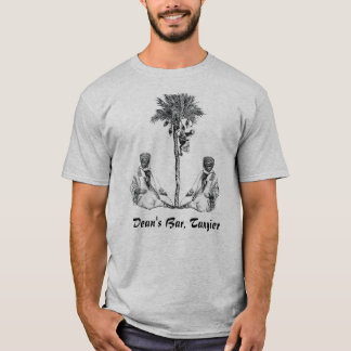 Camiseta MARROQUINOS COM PALMEIRA, a Barragem do decano,