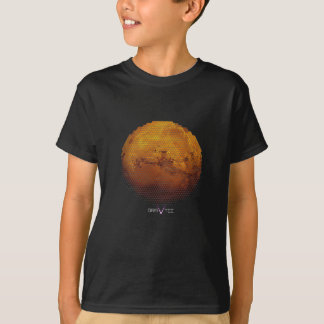 Camiseta Marte nos triângulos