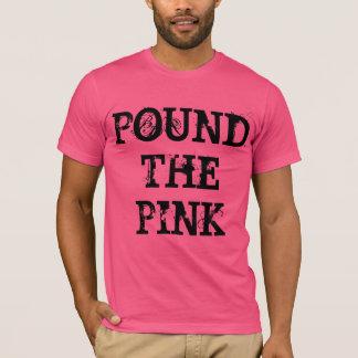 Camiseta Martele o rosa