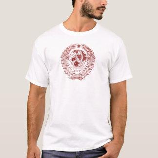 Camiseta Martelo de Rússia soviética & selo da foice
