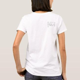 Camiseta MARTHA WASHINGTON, sementes da felicidade
