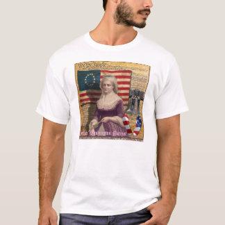 Camiseta Martha Washington senhora do primeiro americano a