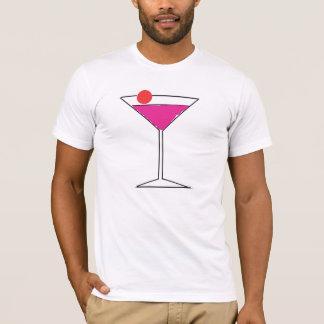 Camiseta Martini cor-de-rosa