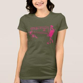 Camiseta Martini & música - rosa