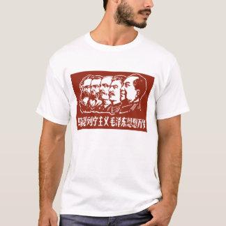 Camiseta Marx, Engels, Lenin, Stalin, e Mao