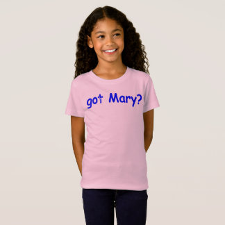 Camiseta Mary obtida?