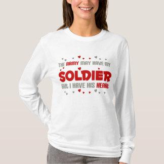 Camiseta Mas eu tenho seu coração - exército