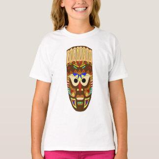 Camiseta máscara africana tradicional