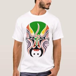 Camiseta Máscara da ópera de Peking do chinês - t-shirt do