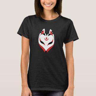 Camiseta Máscara do Fox de Kitsune do japonês