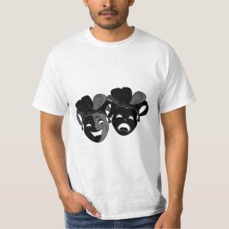 Camiseta Máscaras do teatro da comédia e da tragédia