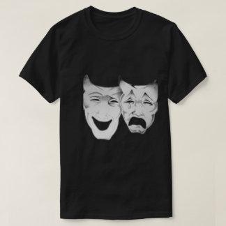 Camiseta Máscaras felizes e tristes