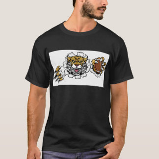 Camiseta Mascote desorganizada do futebol americano