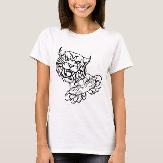 Camiseta Mascote desorganizada do Gamer