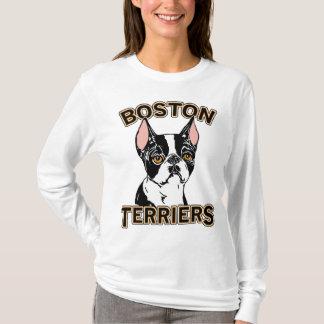 Camiseta Mascote dos terrier de Boston
