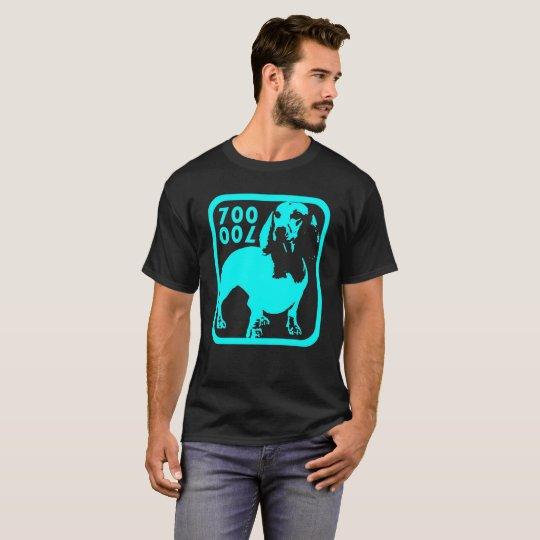Camiseta Mascote Seven Hundred Azul Claro