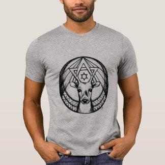 Camiseta masculina Animal e Estrela de Davi