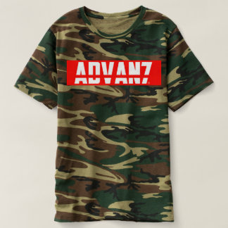 "Camiseta Masculina Camuflada ""Advanced"" (Nova)"