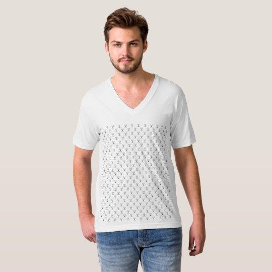 Camiseta masculina Gola V Malha Arch Search