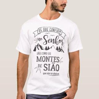 Camiseta masculina - Os que confiam no Senhor