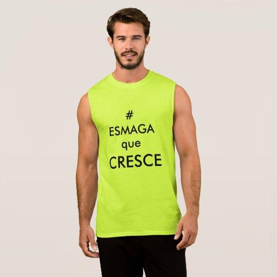 Camiseta masculina para academia
