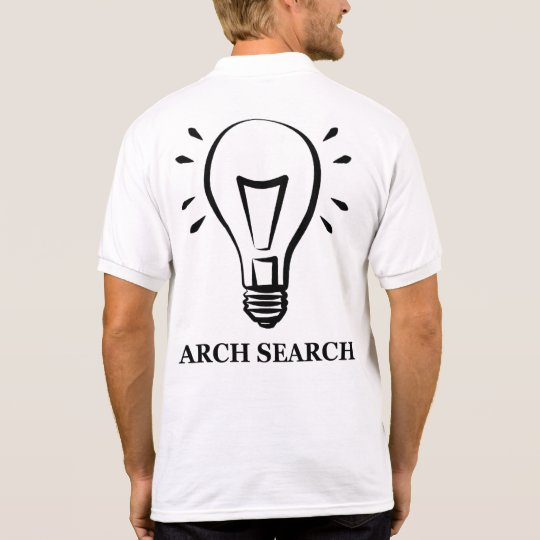 Camiseta masculina Polo Arch Search