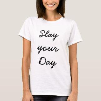 Camiseta Massacre o t-shirt da sua mulher do dia