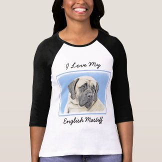 Camiseta Mastiff inglês (jovem corça)