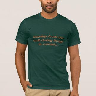 Camiseta Mastigação através das limitações