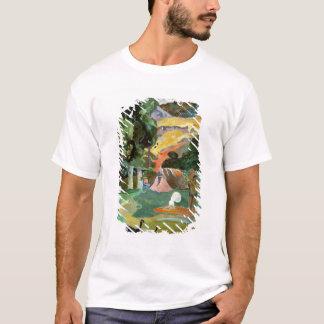 Camiseta Matamoe ou, paisagem com pavões, 1892