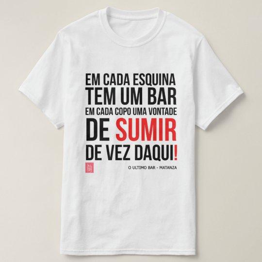 Camiseta Matanza - O Ultimo Bar