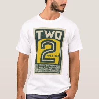 Camiseta Matchbook dois 2 de India do vintage do kitsch