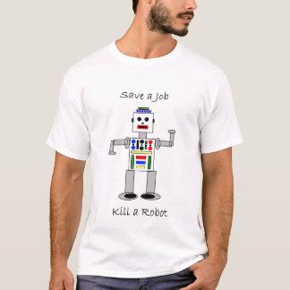 Camiseta Mate um robô
